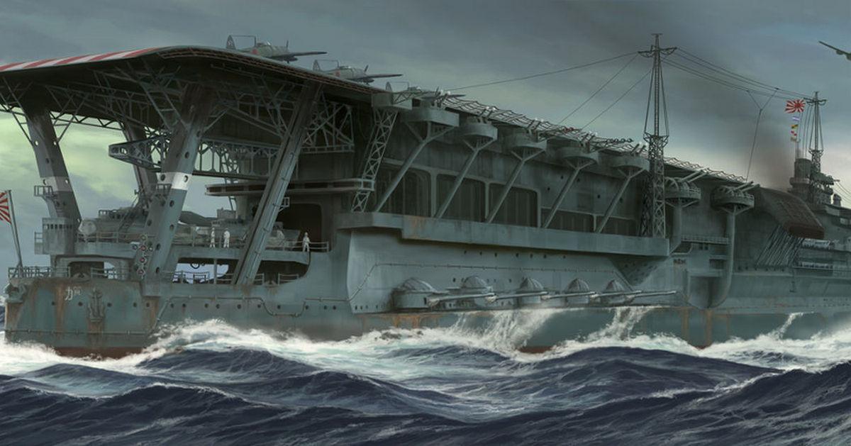 Авианосец «Кага» – исторический набросок
