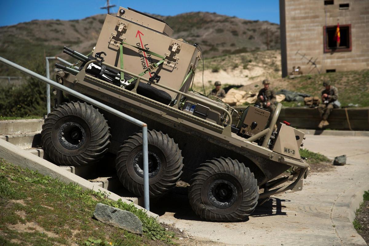 Военные роботы разгрузят британских солдат