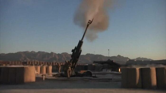 Применение Экскалибур в Афганистане