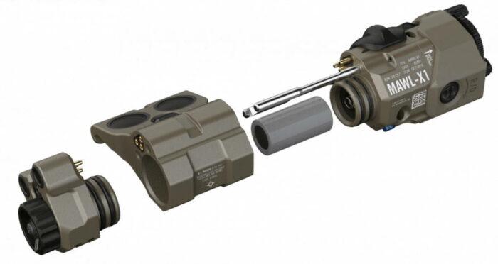 Конструкция оружейного модуля MAWL-X1