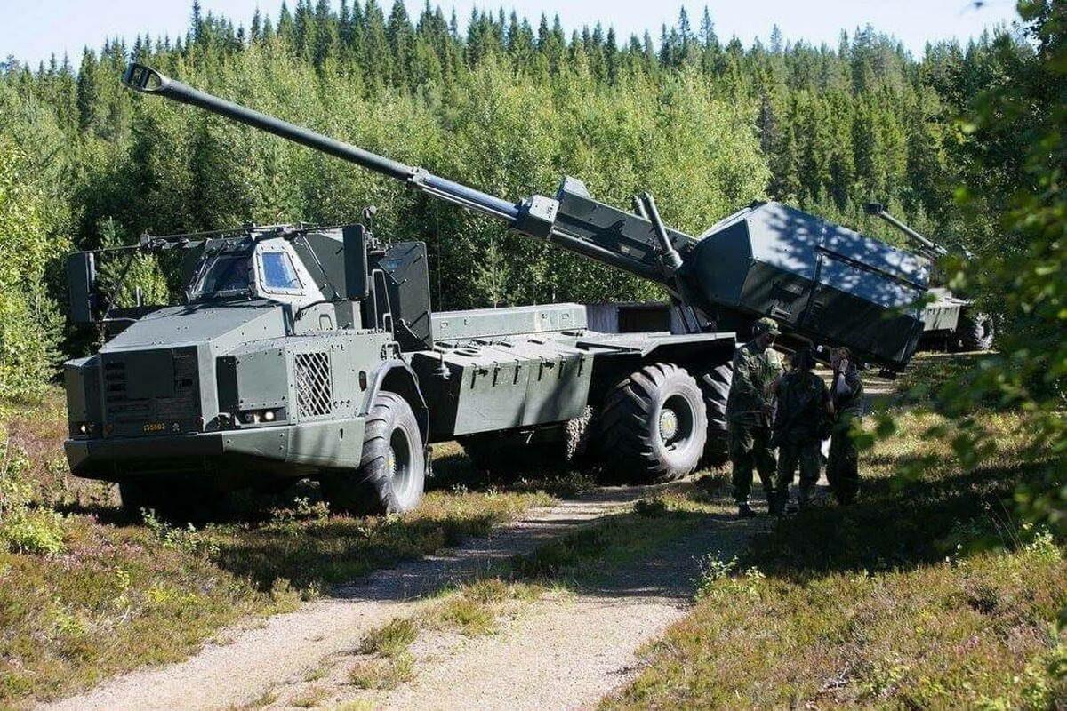 "155 мм гаубица ""Арчер"""