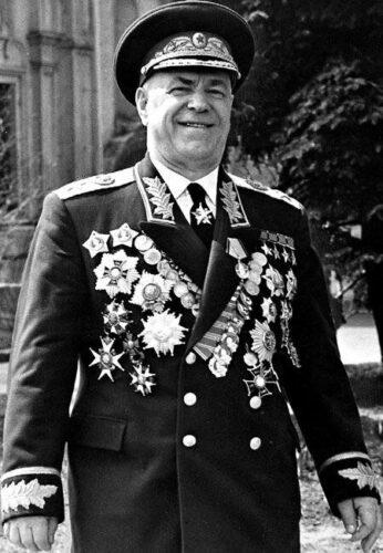 Маршал СССР Г.К. Жуков