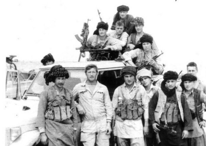 Подразделение СпН ГРУ в Афганистане, переодетое под боевиков