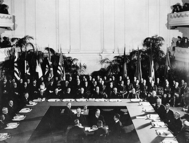 Вашингтонское морское соглашение. 1922 г.