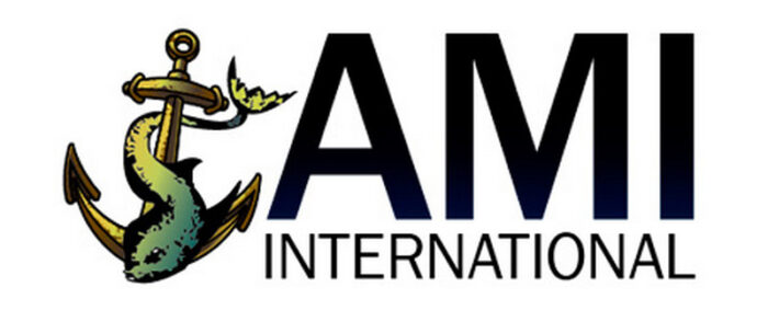 Компания AMI International. Логотип.