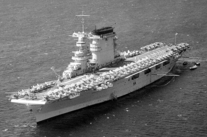 Авианосец ВМС США «Лексингтон»