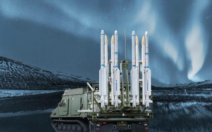 Наземная ПУ комплекса IRIS-T SLS ПВО Швеции