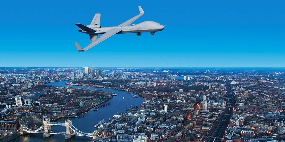 ВВС Великобритании протестируют ударный БПЛА в гражданском воздушном пространстве