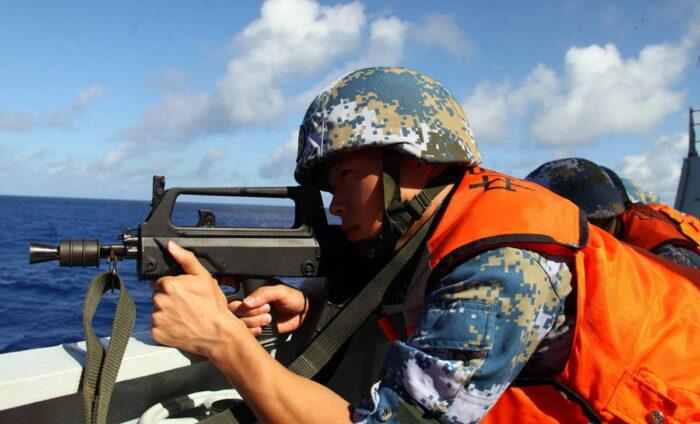 Китайская штурмовая винтоска QBZ-95