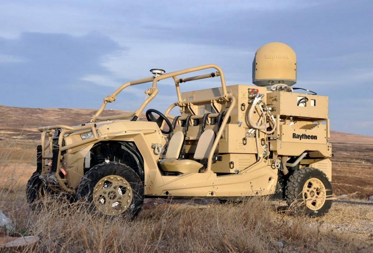 ВВС США получили лазерную систему для борьбы с дронами