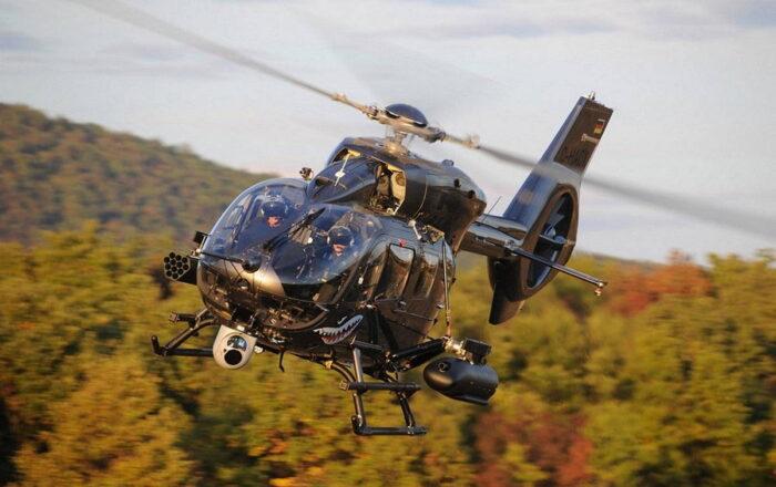 Многоцелевой вертолет немецкого спецназа