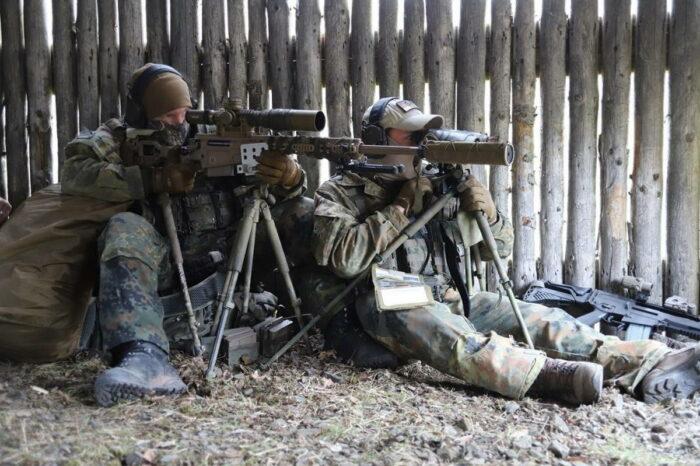 Новая снайперская винтовка бундесвера
