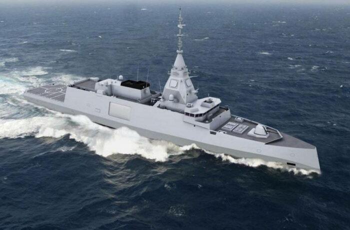 Фрегат FDI ВМС Франции