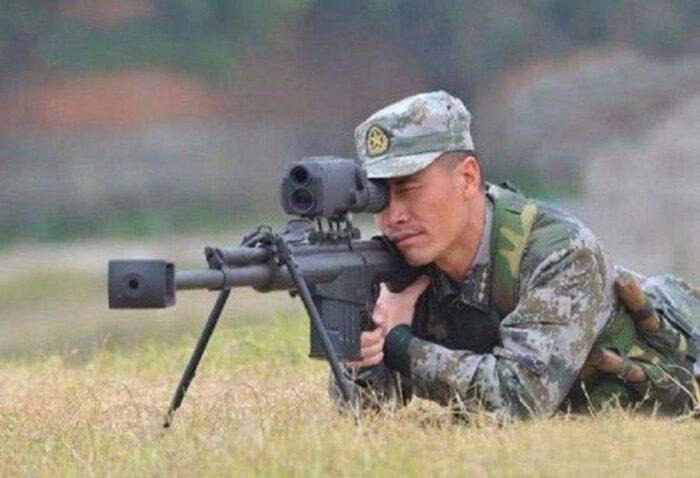 Полуавтоматическая снайперская винтовка китайского спецназа