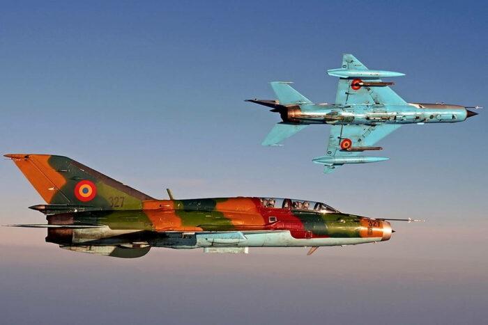 МиГ-21 ВВС Румынии
