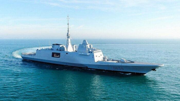 Фрегат ВМС Франции FREMM