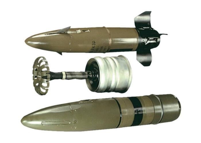 """Выстрел с управляемой ракетой 9М119М """"Инвар"""""""