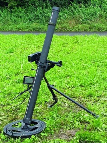 Электронный прицел eCompaX весит около 1,2 кг