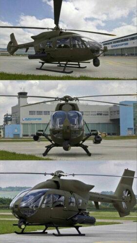Многоцелевой вертолет Н145М с вооружением и оборудованием