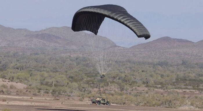 Планирующая парашютная система семейства DragonFly