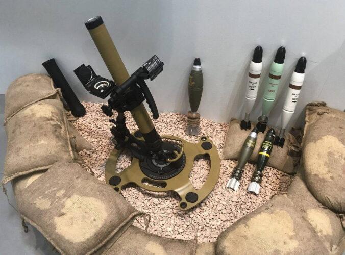 60 мм минометная система RSG60