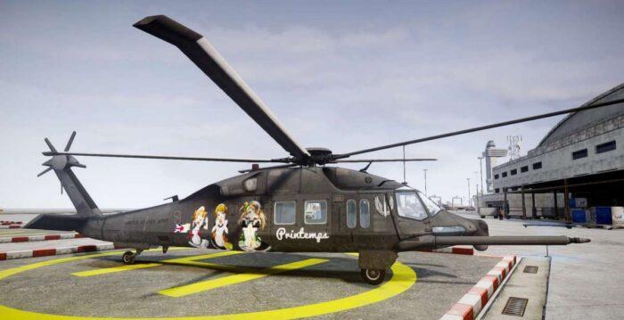 Малозаметный вертолет ССО США МН-Х «Silent Hawk»