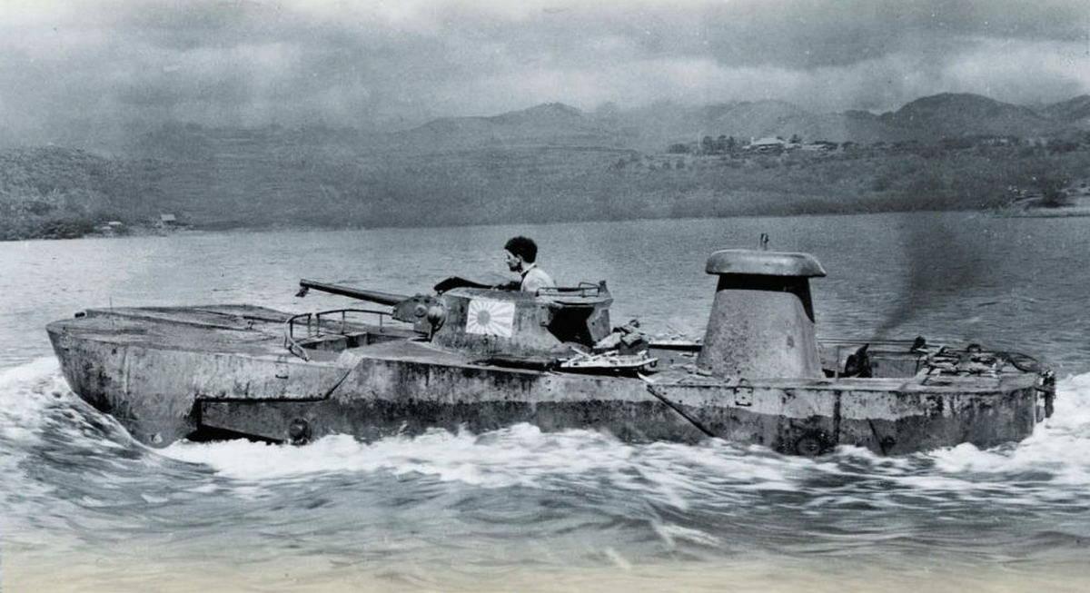 Плавающие танки Второй мировой – исторический нарратив