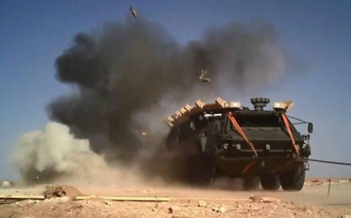 Армия США испытает систему активной защиты StrikeShield