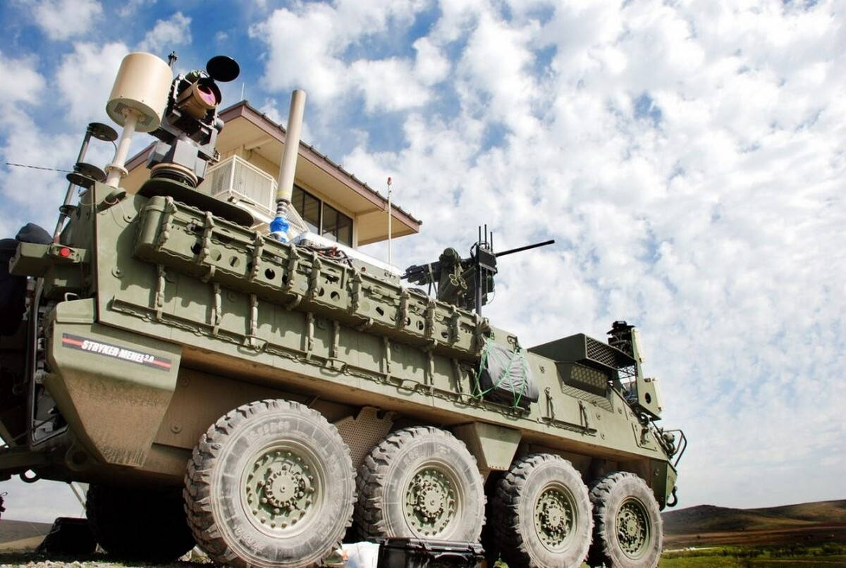 Тактический лазер армии США