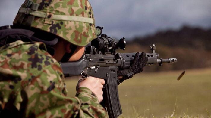 Новая штурмовая винтовка и пистолет для ССО Японии