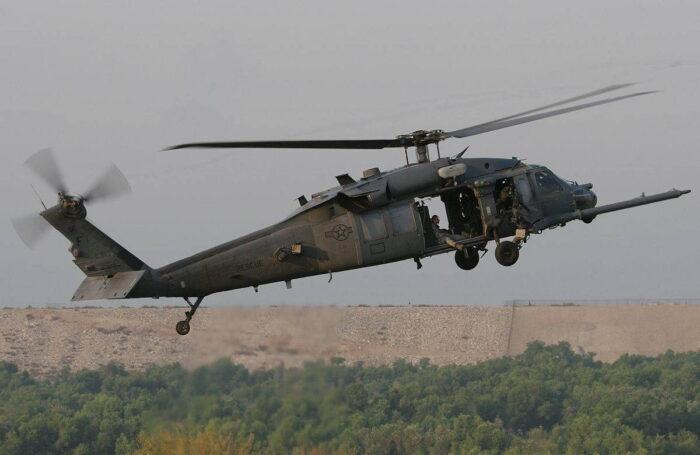 Основной вертолет ССО США НН(МН)-60 «Pave Hawk»