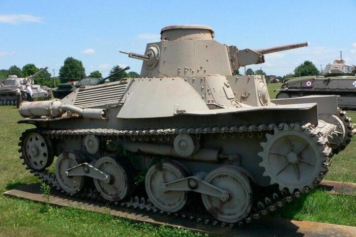 """Исходная модель – танк Тип 95 """"Ха-Го"""""""