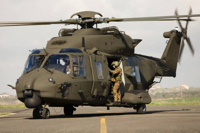 Транспортный вертолет NH90