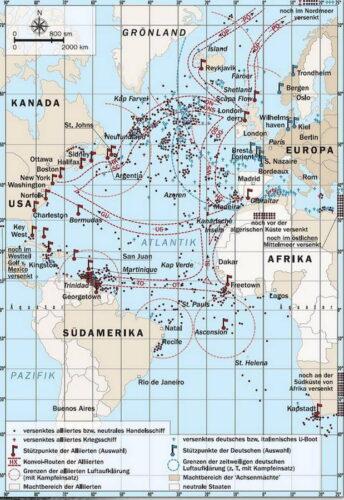 Атлантический театр немецкой подводной войны