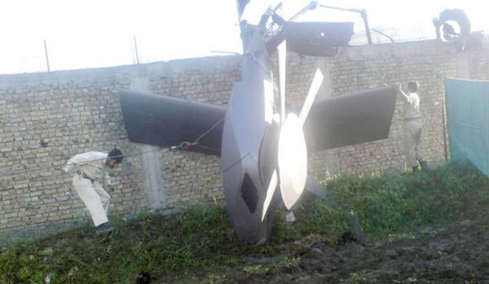 Обломки вертолета после операции ССО США