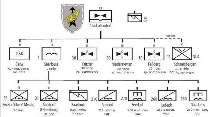 Организационная структура ДСО