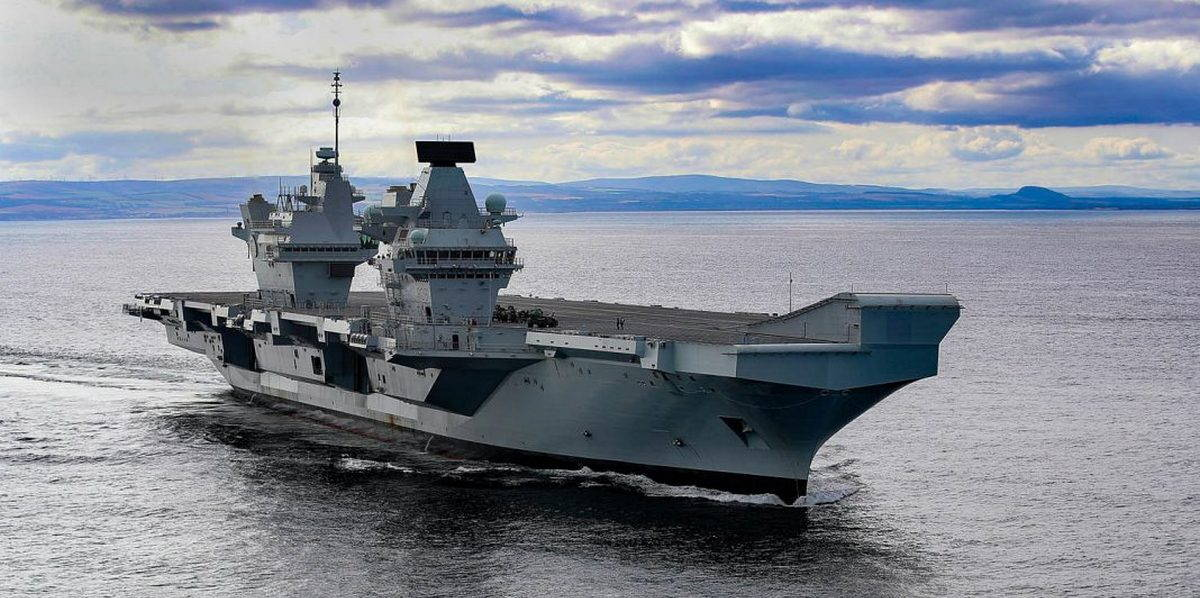ВМС Великобритании получили второй авианосец
