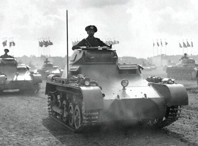 Зарождение танковых войск вермахта