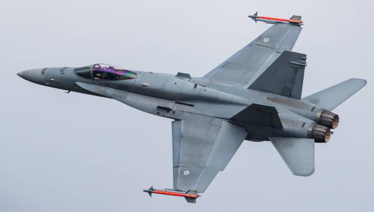 ВВС Финляндии тестируют преемников для F-18