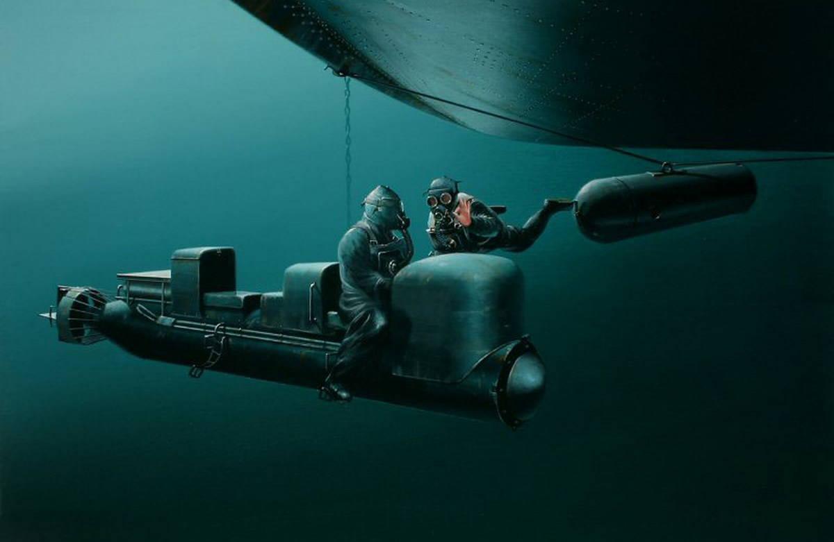 Управляемые торпеды, или мини подлодки Второй мировой войны