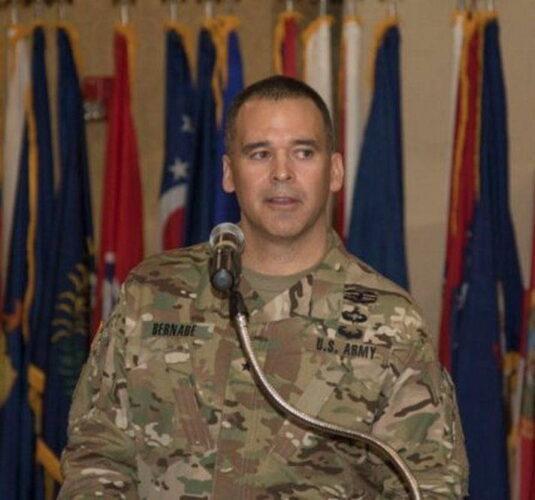 Бригадный генерал Шон БЕРНАБЕ