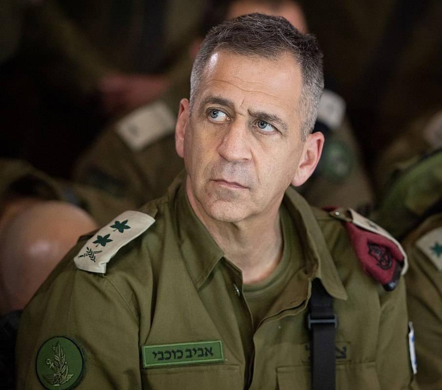 Начальник ГШ АОИ генерал-лейтенант Авив КОХАВИ