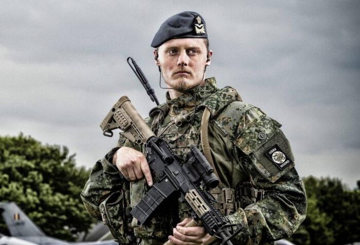 Новое полевое снаряжение армии Нидерландов