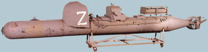 Управляемая торпеда (мини подлодка) SLC