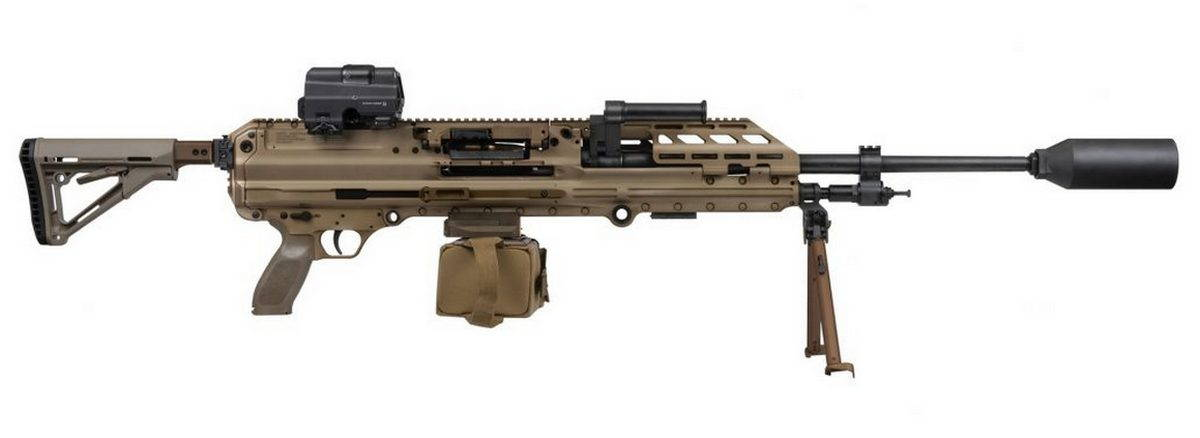 8.6 мм пулемет SIG Sauer MG338
