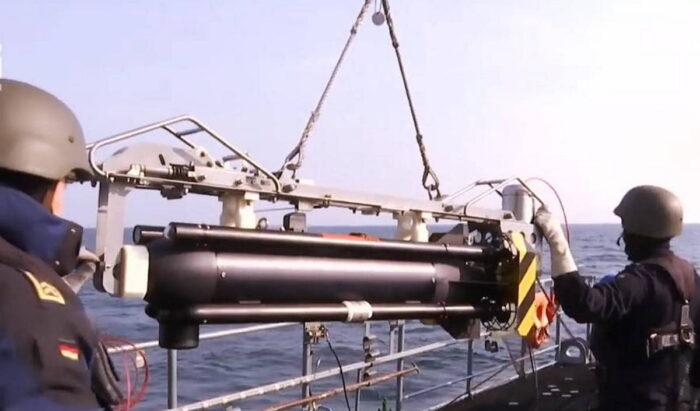 """Подводный дрон для поиска и уничтожения мин """"Seefuchs"""""""