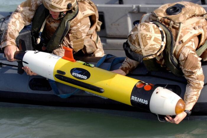 """Автономный подводный дрон """"Remus100"""""""