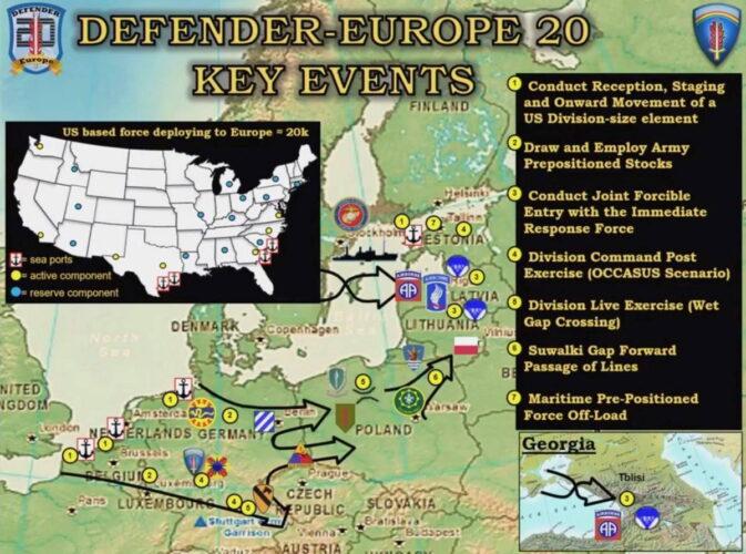 Отдельные мероприятия на территории Европы