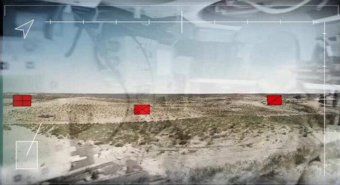 Отображение тактической информации на дисплее