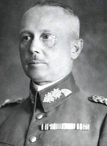 Полковник Вернер фон ФРИЧ